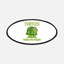 Turtle Happy Patches