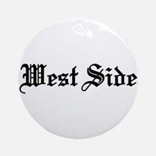 West Side Ornament (Round)