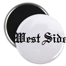 "West Side 2.25"" Magnet (100 pack)"