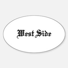 West Side Oval Decal