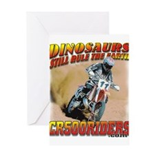 CR500 Tee Review Greeting Card