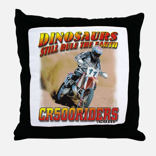 CR500 Tee Review Throw Pillow
