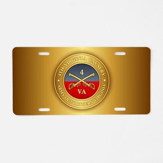 4th Virginia Cavalry (G) Aluminum License Plate