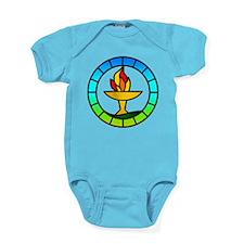Cute Flame Baby Bodysuit