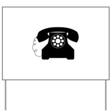 Old Style Telephone Yard Sign