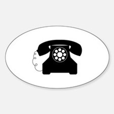Old Style Telephone Decal