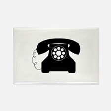 Old Style Telephone Magnets
