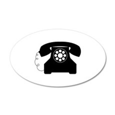 Old Style Telephone Wall Decal