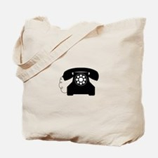 Old Style Telephone Tote Bag