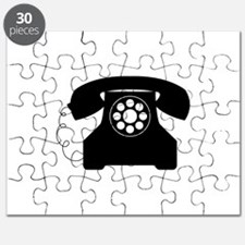 Old Style Telephone Puzzle