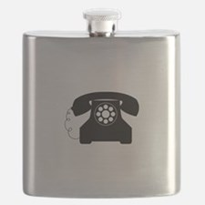 Old Style Telephone Flask