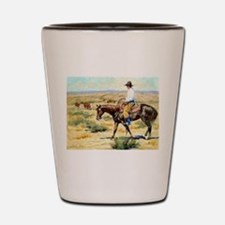 Cute Cowboy Shot Glass