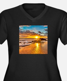 Sunrise Beach Plus Size T-Shirt