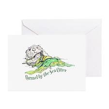 Carmel Sea Otter Greeting Cards (Pk of 10)