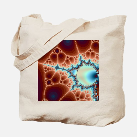 Funny Math fractal Tote Bag