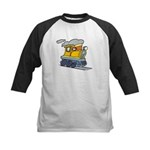 Toy Train Kids Baseball Jersey