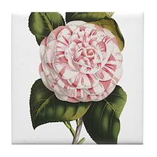 Unique Floral and botanical Tile Coaster