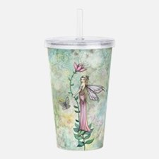 Cute Fairies art Acrylic Double-wall Tumbler