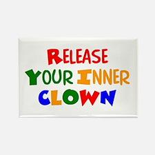 inner clown Rectangle Magnet