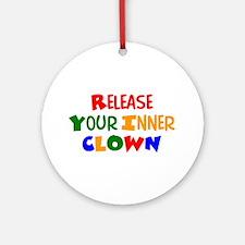 inner clown Ornament (Round)