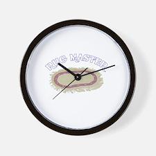 Rug Master Wall Clock