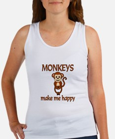 Monkey Happy Women's Tank Top