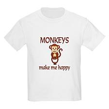 Monkey Happy T-Shirt
