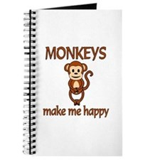 Monkey Happy Journal