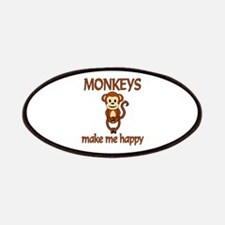Monkey Happy Patches