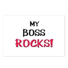 My BOSS ROCKS! Postcards (Package of 8)
