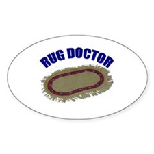 Rug Doctor Oval Decal