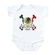Castro Skull Infant Bodysuit