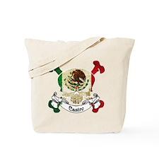 Castro Skull Tote Bag