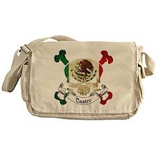 Castro Skull Messenger Bag