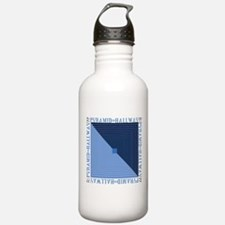 Funny Eye illusions Water Bottle