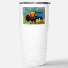 Unique Buffalo Travel Mug