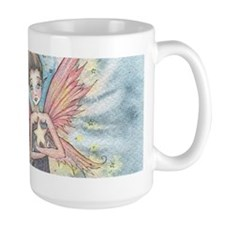 Arianna's Twinkling Star Fairy Fantasy Art Mugs