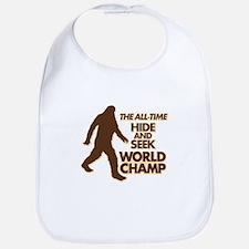 BIGFOOT - THE ALL-TIME HIDE & SEEK WORLD CHAMP Bib