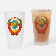 Unique Russian coat of arms Drinking Glass