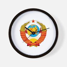 Unique Russian coat of arms Wall Clock