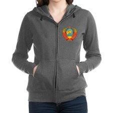 Unique Russian coat of arms Women's Zip Hoodie