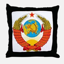 Cute Hammer and sickle Throw Pillow