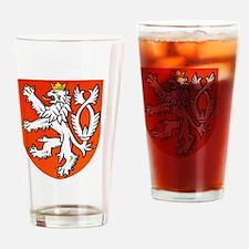 Cute Dutch football Drinking Glass