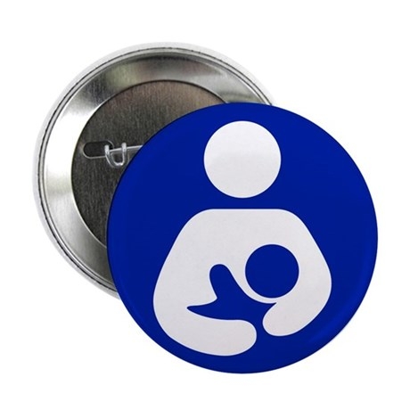 """Breast Feeding Advocacy 2.25"""" Button (100 pack)"""