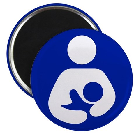 "Breast Feeding Advocacy 2.25"" Magnet (100 pack)"
