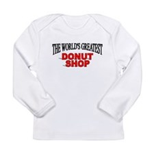 The Worlds Greatest Donut Shop Long Sleeve T-Shirt