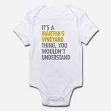 Its A Martha's Vineyard Thing Infant Bodysuit