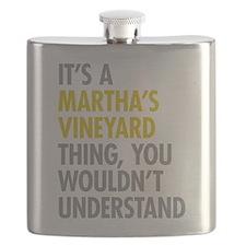 Its A Martha's Vineyard Thing Flask