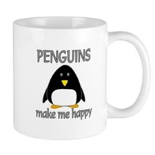 Penguin Happy Small Mugs
