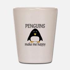 Penguin Happy Shot Glass